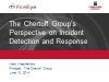 The Chertoff Group's Perspective on Incident Detection and Response
