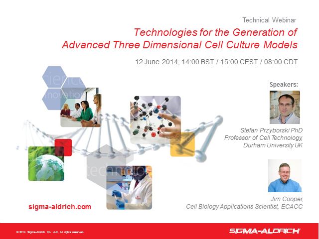 Technologies for the Generation of Advanced 3D Cell Culture Models