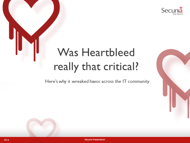 Was Heartbleed Really that Critical?