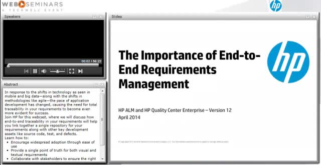 The importance of end-to-end requirements management