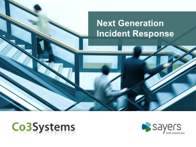Next Generation Incident Response