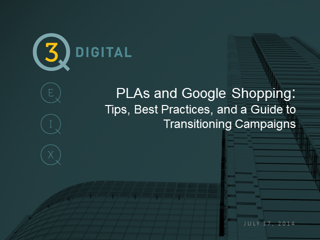 Get the most out of Google Shopping