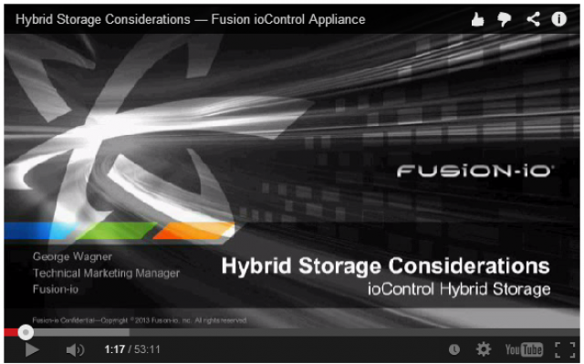 Five Purchase Considerations for Hybrid Storage