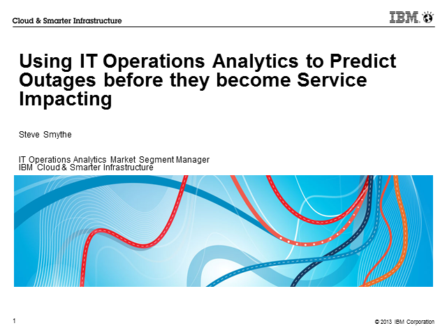 How IT Operations Analytics Predict and Prevent Service Outages