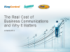 The Competitive Advantage and Cost Savings of Cloud Communications