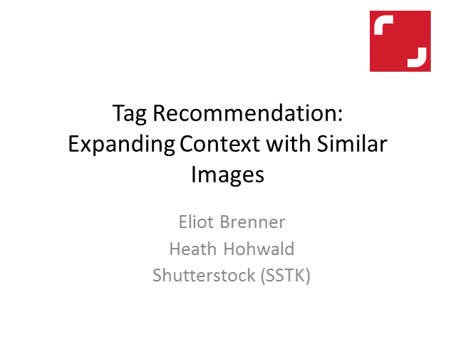 Tag Recommendation: Expanding Context with Similar Images