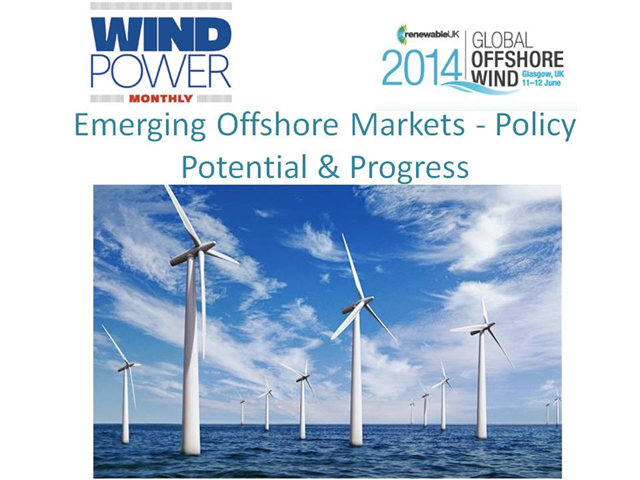 Emerging offshore markets – Policy, Potential & Progress