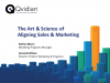 The Art and Science of Sales & Marketing Alignment
