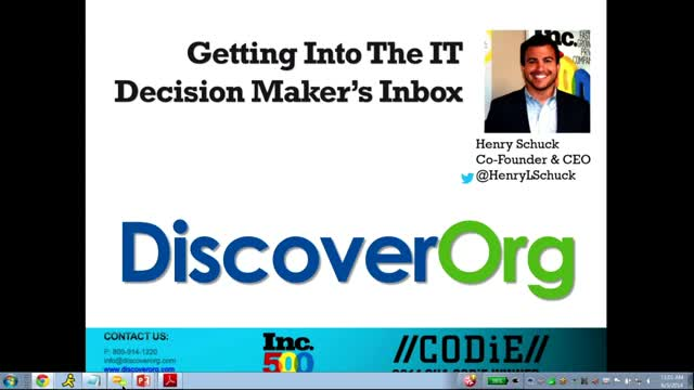 Getting Into the IT Decision Maker's Inbox