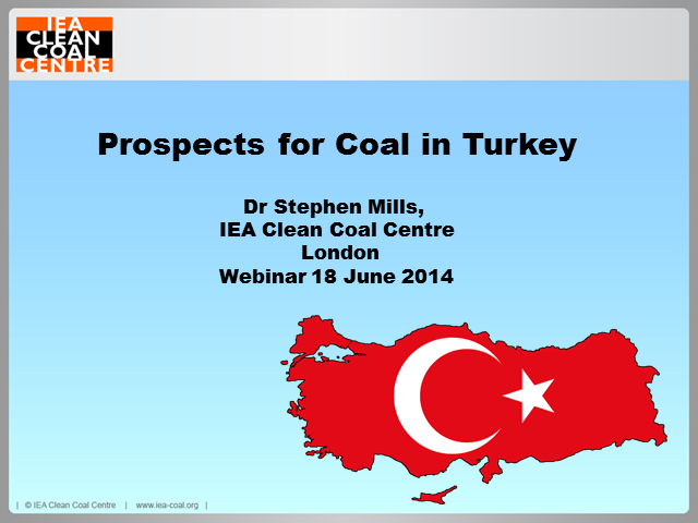 Prospects for coal and clean coal in Turkey