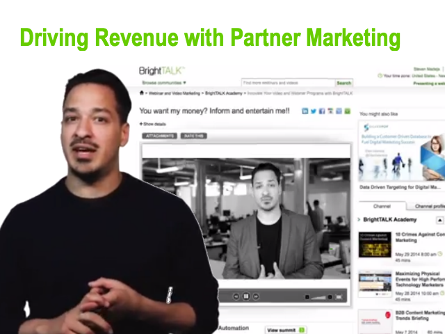 Driving Revenue with Partner Marketing