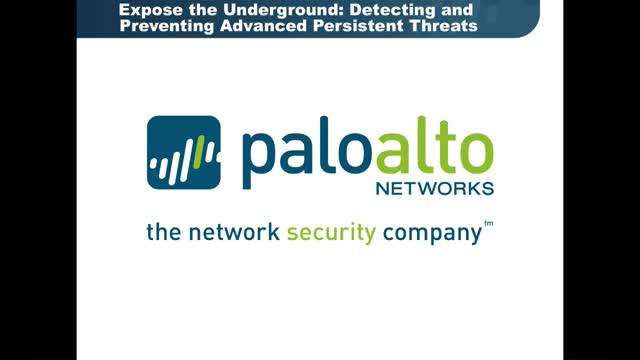 Expose the Underground: Detecting and Preventing Advanced Persistent Threats
