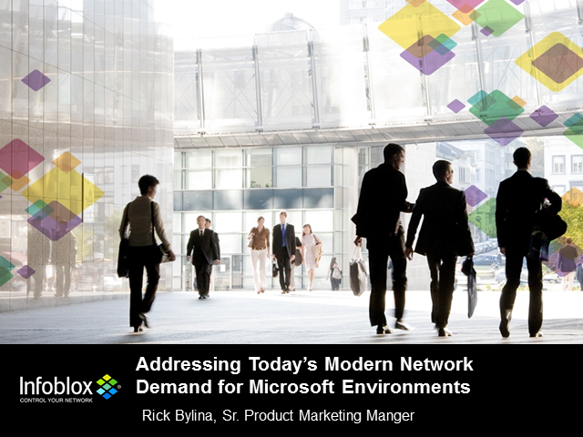 Addressing Today's Modern Network Demands for Microsoft Environments