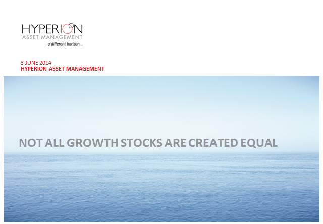Not All Growth Stocks Are Created Equal