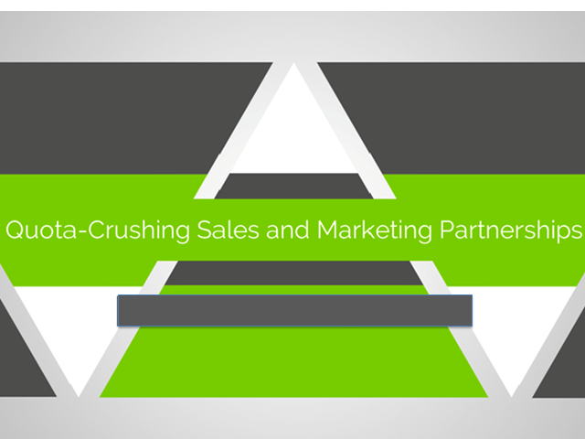 Quota Crushing Sales and Marketing Partnerships for SaaS