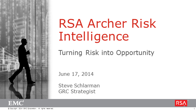 Turn Risk into Opportunity with a Risk Intelligence Approach to GRC