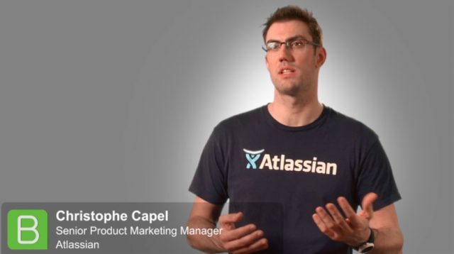 BrightTALK at SITS:: Christophe Capel from Atlassian