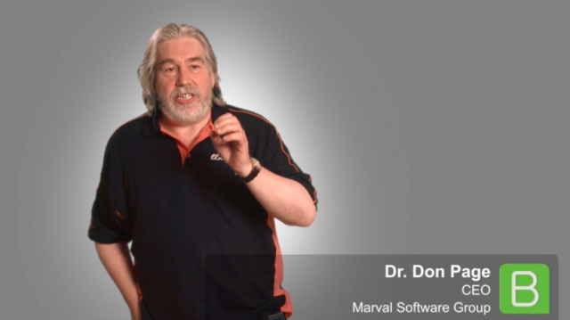 BrightTALK at SITS:: Dr. Don Page from Marval Software
