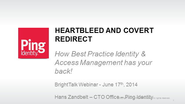 Heartbleed and Covert Redirect: How IAM has your back!