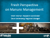 Fresh Perspective on Manure Management