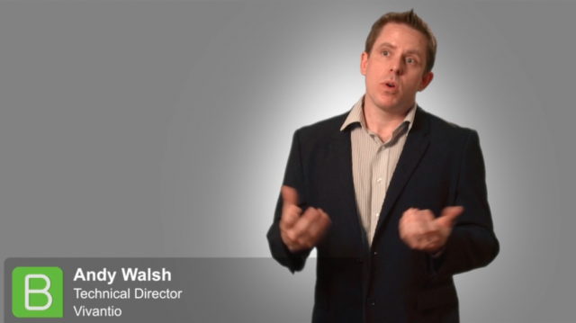 BrightTALK at SITS: Andy Walsh from Vivantio