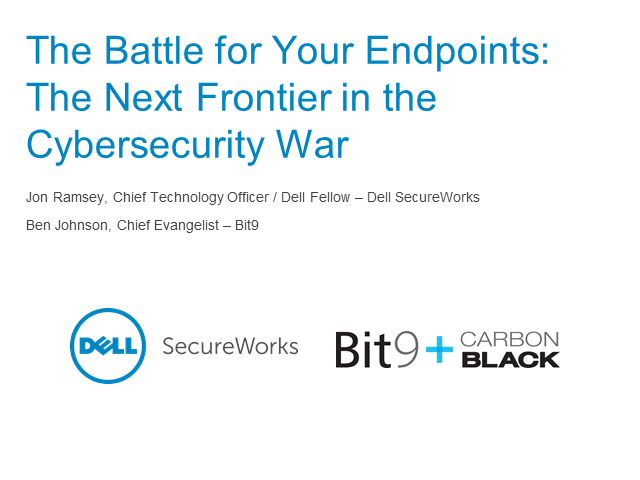 The Battle for Your Endpoints: The Next Frontier in the Cybersecurity War