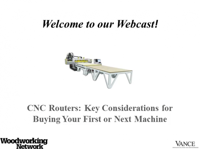 CNC Routers: Key Considerations for Buying Your First or Next Machine