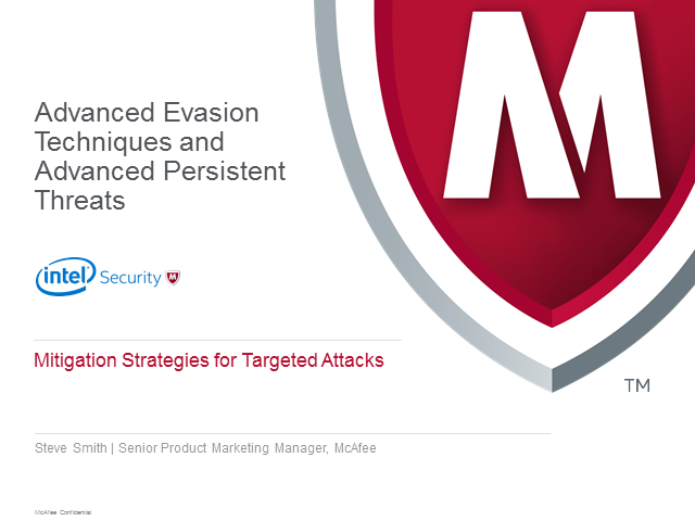 What hackers use to cloak Advanced Persistent Threats!