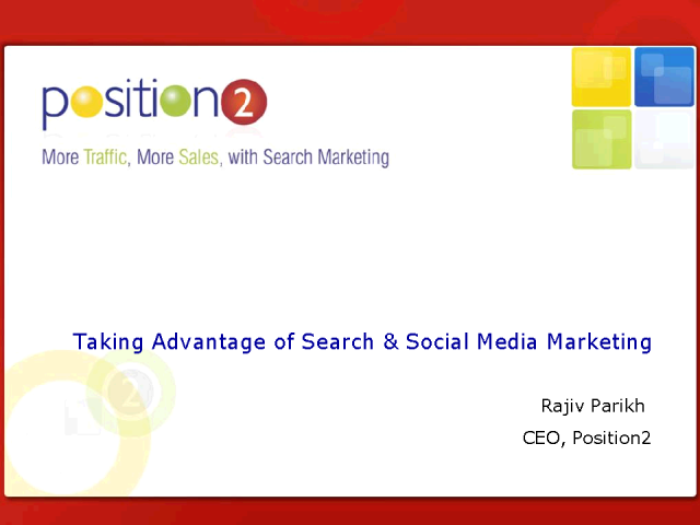 Social Media and Search