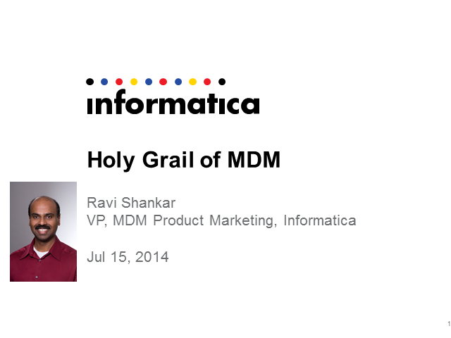 Holy Grail of MDM: How Two Customers Achieved MDM Nirvana And Two Didn't