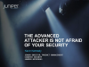The Advanced Attacker is Not Scared of Your Security