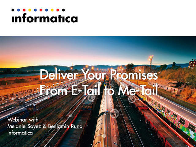 """Deliver"" Your Promises - From E-Tail to Me-Tail"