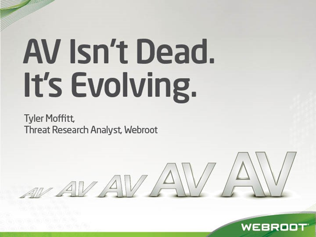 AV isn't Dead. It's Evolving.