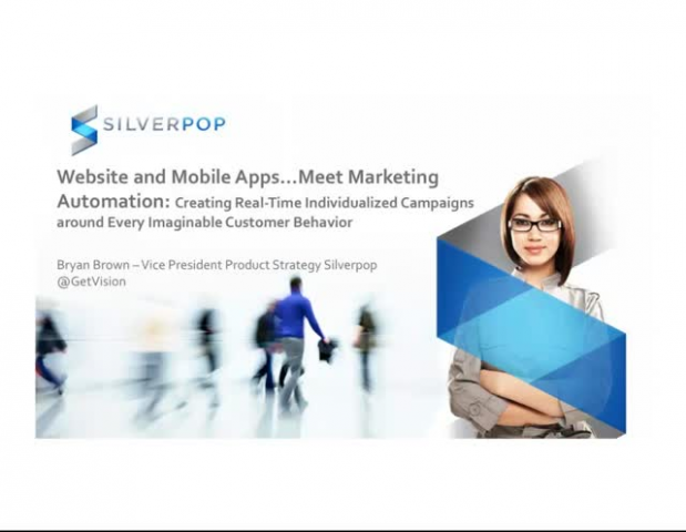 Website and Mobile Apps... Meet Marketing Automation