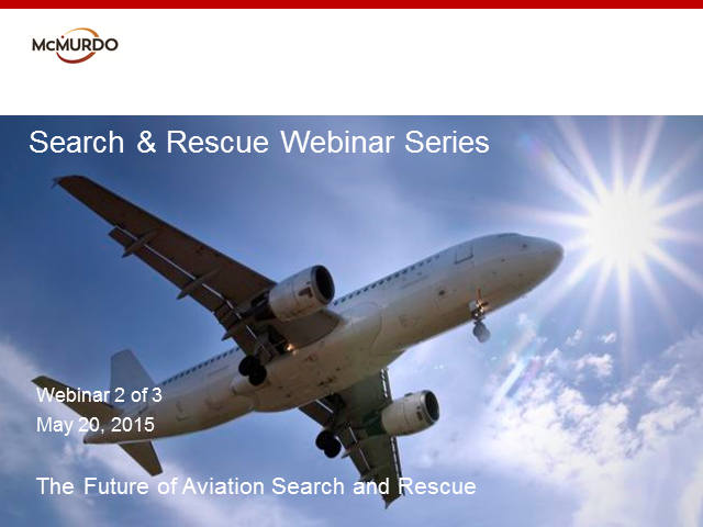 The Future of Aviation Search and Rescue