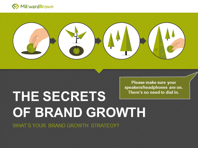 The Secrets of Brand Growth