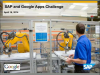 SAP and Google Technical Webinar