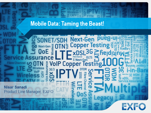 Mobile Data Traffic: Taming the Beast!