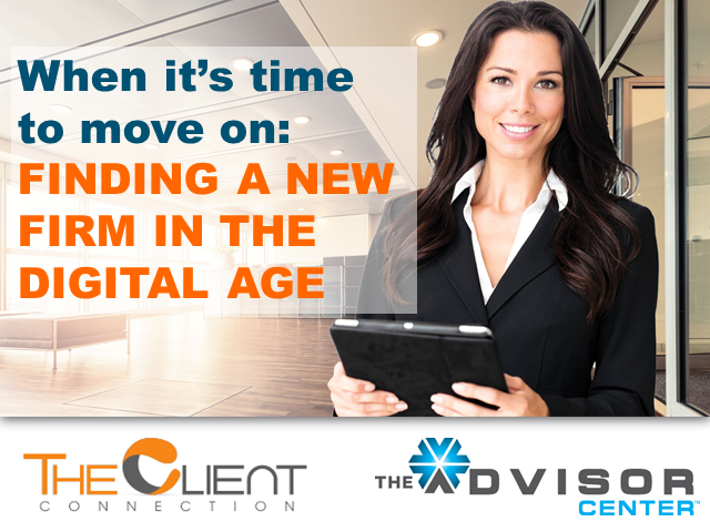 When It's Time to Move On:  Finding a New Firm in the Digital Age