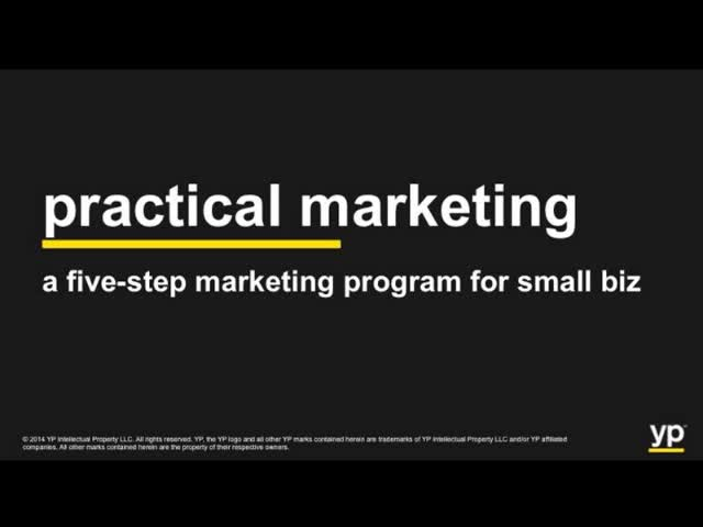 Five-Step All-in-One Small Biz Practical Marketing Webinar