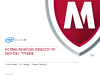 McAfee Advanced Detection for Zero-Day Threats