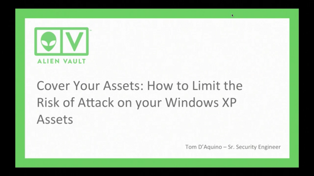 How to Limit the Risk of Attack on your XP Assets