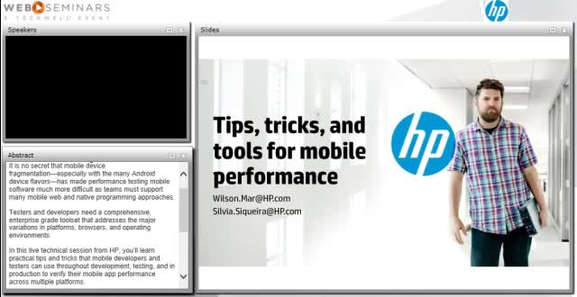 Tips, tricks, and tools for mobile performance testing