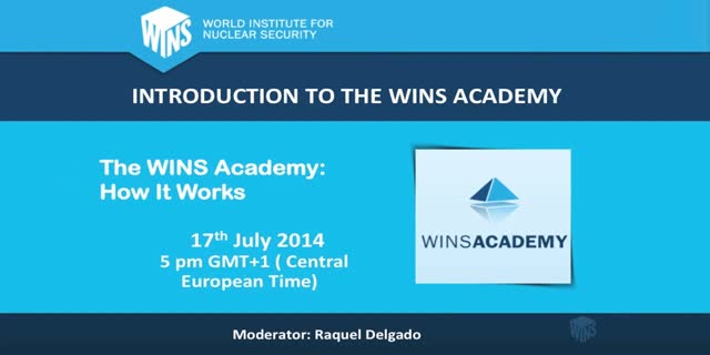 Introduction to the WINS Academy