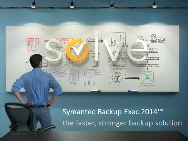 Backup Exec 2014 Launch