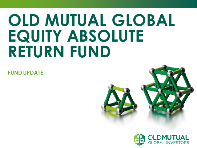 Old Mutual Global Equity Absolute Return Fund - Live webcast with Ian Heslop