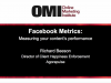 Facebook Metrics: Measuring Your Content's Performance