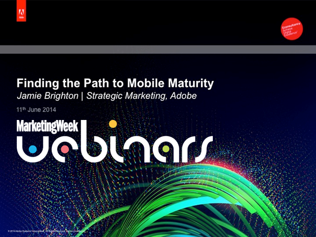Finding the path to mobile maturity