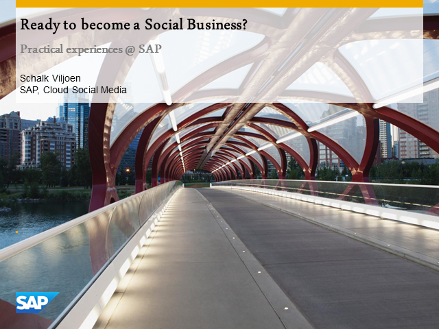 How to Become a Social Business: the Journey from Prospect to Promoter
