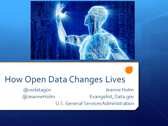 How Open Data Changes Lives
